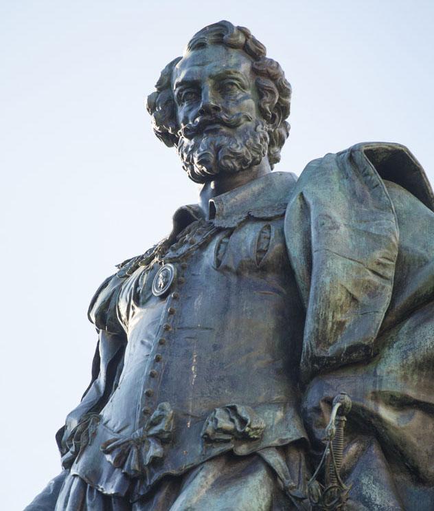 Estatua de Rubens, Groenplaats, Amberes, Bélgica © Kris Ubach
