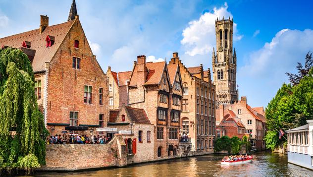 Brujas, Bélgica © Emi Cristea / Shutterstock