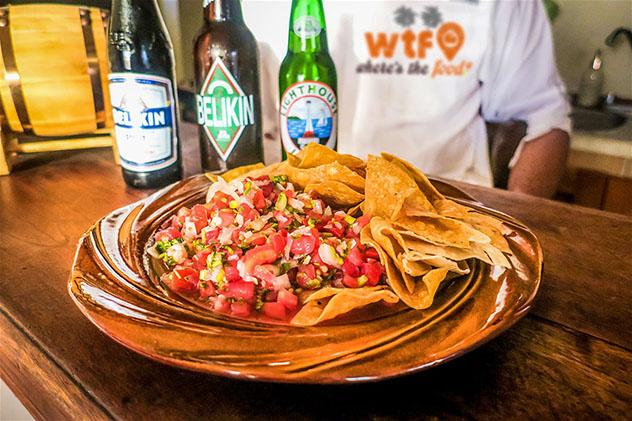 Belice y la cultura local: comida de San Pedro con Belize Food Tours