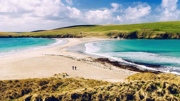 El paisaje de las Shetland es tan espectacular que hay que verlo para creerlo, Escocia © Peter Burnett / Getty Images