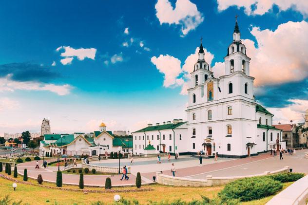 La catedral del Espíritu Santo, icono de la capital de Bielorrusia, Minsk © bruev / Getty Images