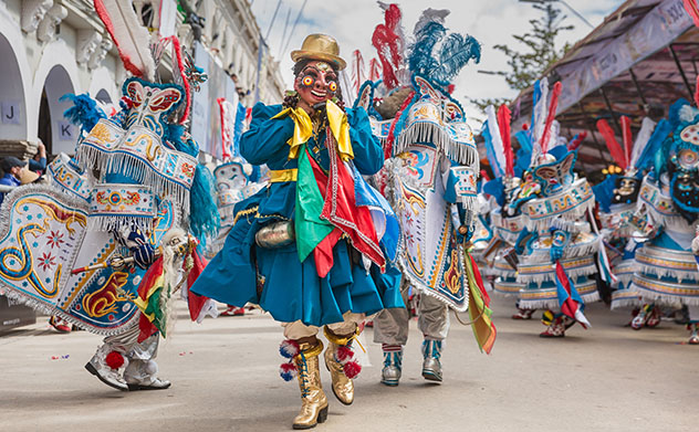 La Diablada, Carnaval de Oruro, en Bolivia © Agatha Kadar / Shutterstock