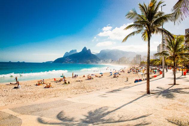 Playa de Ipanema, Río de Janeiro, Brasil © Aleksandar Todorovic / Shutterstock