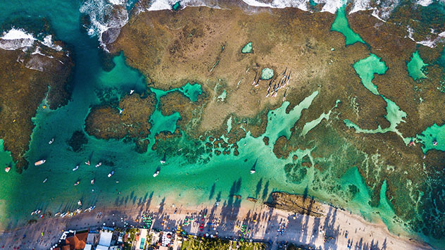 Piscina oceánica: Porto de Galinhas, Brasil