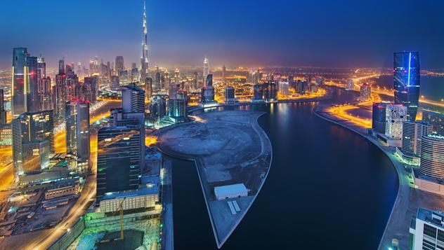 Business Bay, el último barrio de moda de Dubái, Emiratos Árabes Unidos © Enyo Manzano Photography / Getty Images