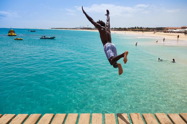 Playa Santa María, isla de Sal, Cabo Verde © Samuel Borges Photography / Shutterstock