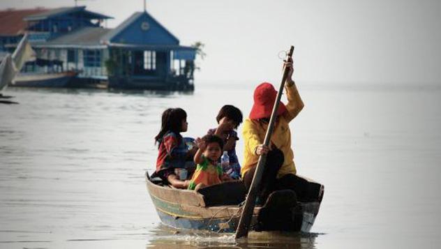 Barca, Camboya © Selda Basgul / Lonely Planet