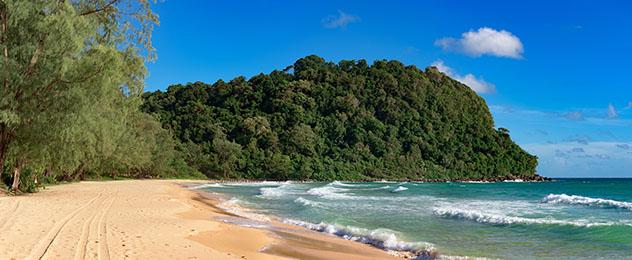 Playa de Lazy, Koh Rong Saloem, Camboya © Stockcrafterpro / Shutterstock