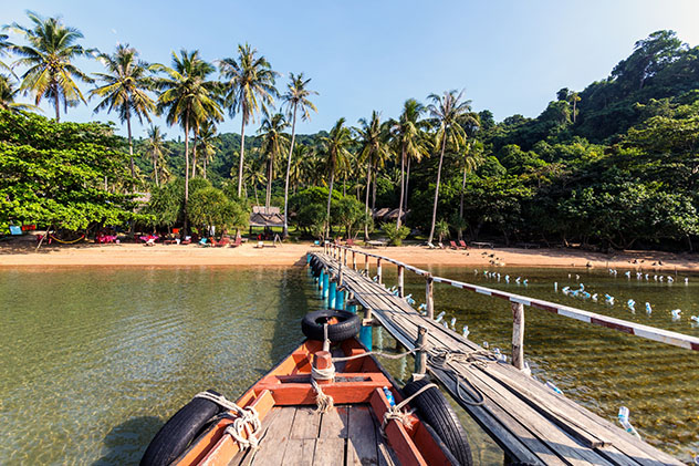 Playa Koh Tonsay, Camboya © tropicalpixsingapore / Getty Images
