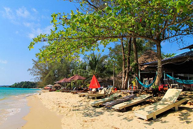 Playa de Otres, Sihanoukville, Camboya © Indira Gimeno / Shutterstock