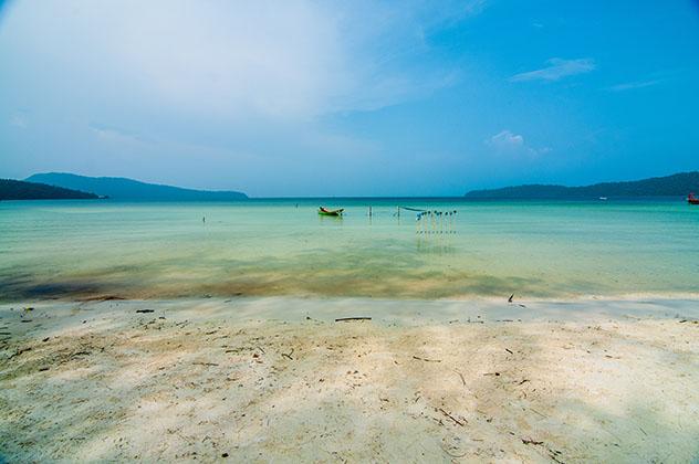 Playa de Serendipity, Sihanoukville, Camboya © Hang Dinh / Shutterstock