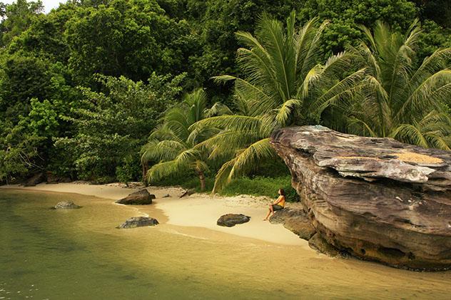 Playa Koh Thmei, Parque Nacional Ream, Camboya © Don Mammoser / Shuttersetock