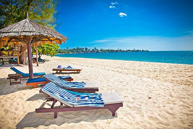 Playa de Sokha, Sihanoukville, Camboya © Aleksandar Todorovic / Shutterstock