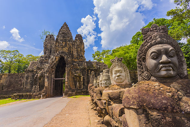 Templo Angkor Thom, Angkor, Siem Reap, Camboya © rujithai / Shutterstock