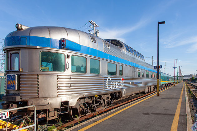 Estación de tren de Halifax, Canadá