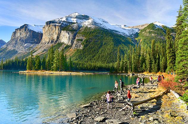 Lago Maligne, Canadá