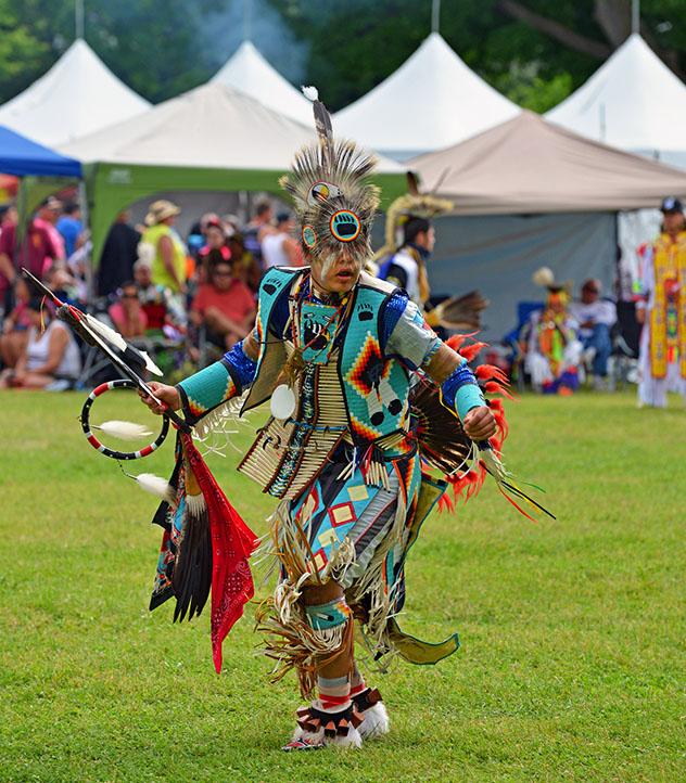 Celebración del solsticio de verano en Ottawa, Canadá