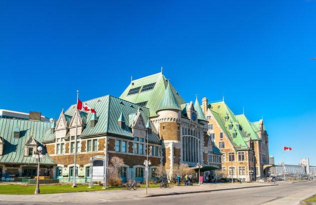 Estación de tren de Quebec, Canadá