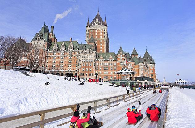 Fin de Año en Quebec, actividades al aire libre