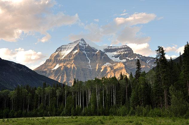 Monte Robson, Rocosas canadienses