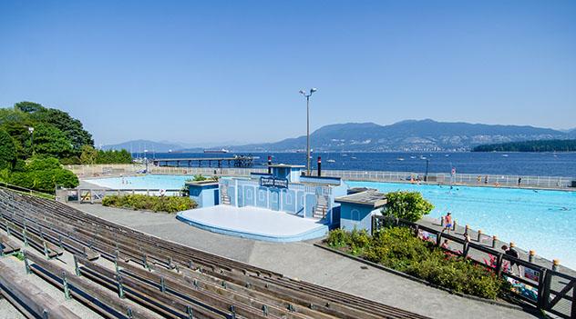 Piscina urbana de Vancouver: Kitsilano Pool, Canadá