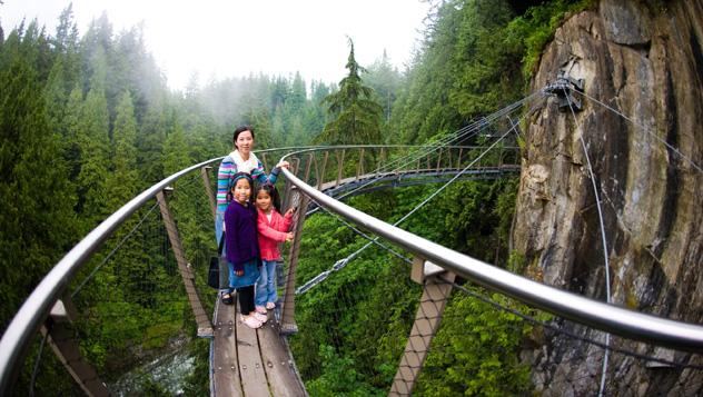 Canadá, puente colgante de Capilano © Pete Ark / Getty Images