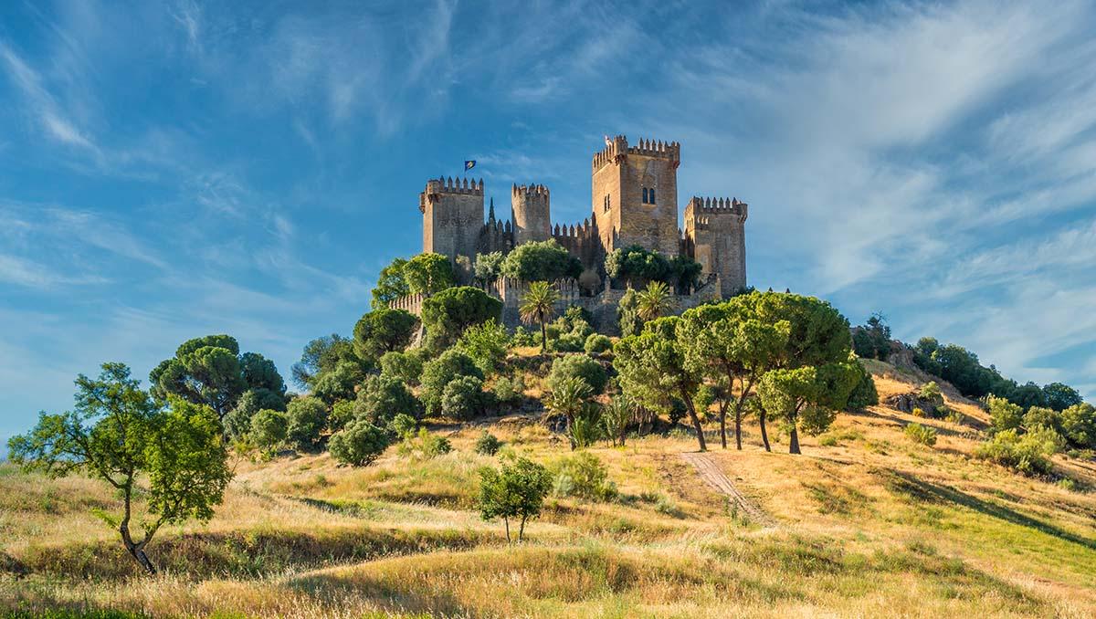 Castillo de Almodóvar del Río en Córdoba