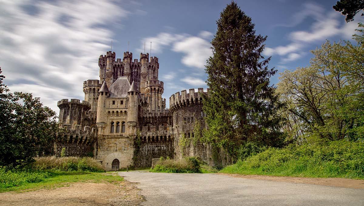 Castillo de Butrón en Vizcaya