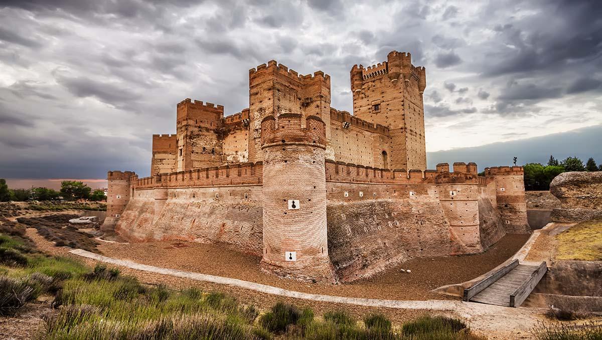 Castillo de la Mota en Medina del Campo Valladolid