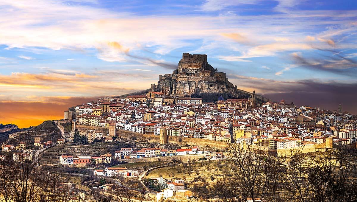 Castillo de Morella en Castellón
