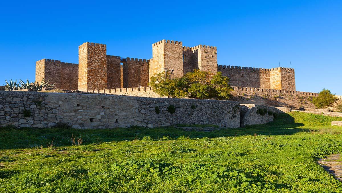 Castillo de Trujillo en Cáceres