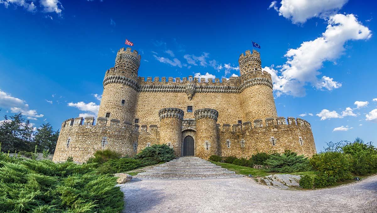 Castillo Nuevo de los Mendoza, Manzanares el Real, Madrid
