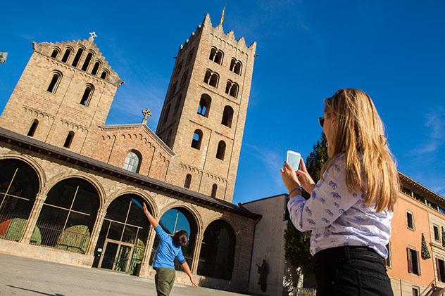 Cataluña interior del norte: Monasterio de Ripoll