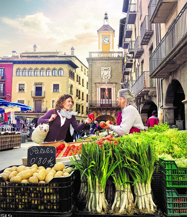 Cataluña interior del norte: el mercado de Vic