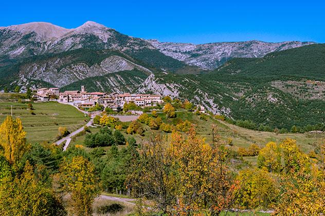 Cataluña interior del norte: Gòsol, a pie del Pedraforca