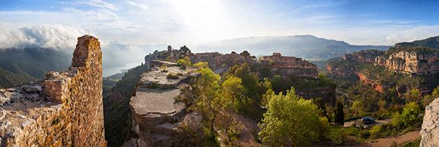 Catalunya meridonal: Siurana desde el castillo, Priorat