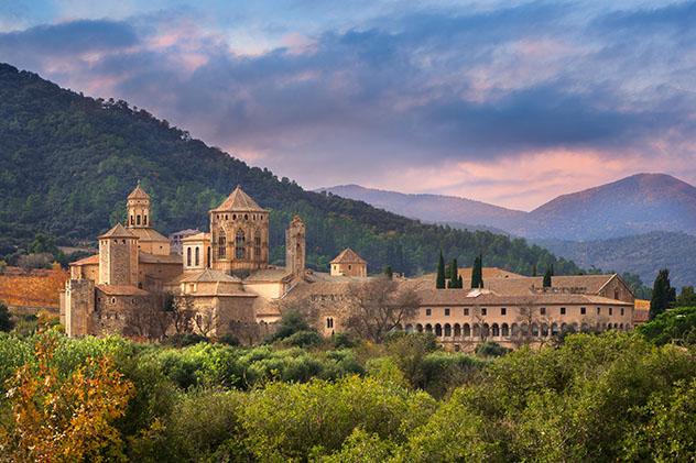 Catalunya meridional: monasterio de Poblet, Ruta del Císter