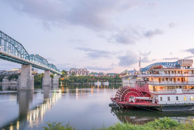 Chattanooga encarna la buena vida sureña, EEUU © createthis / Shutterstock