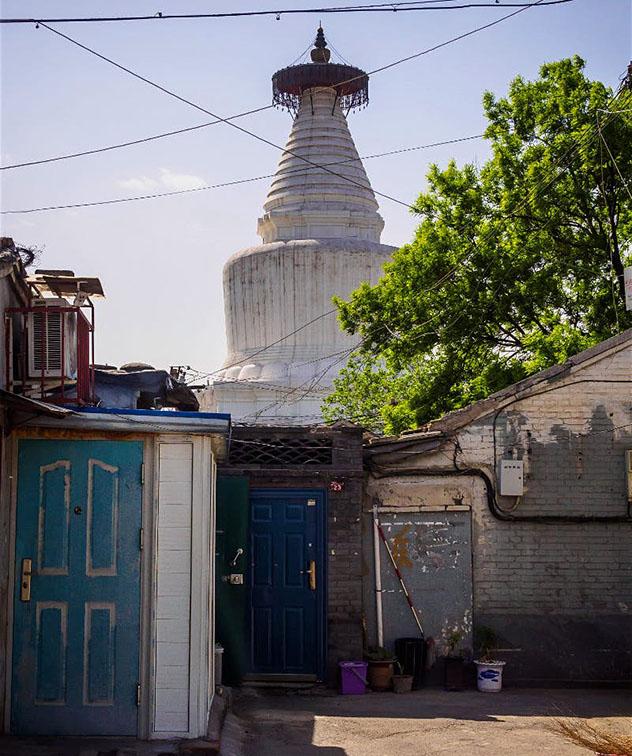 La Pagoda de la Nube Blanca, Beijing, China, Top 09 de Best in Asia Pacific 2019, los 10 mejores destinos de Asia-Pacífico