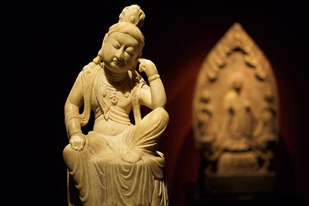 Figuras budistas en el Poly Art Museum, Beijing, China, Top 09 de Best in Asia Pacific 2019, los 10 mejores destinos de Asia-Pacífico