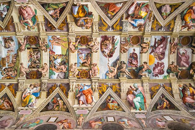 Viaje virtual a la Capilla Sixtina, Museo de los Vaticanos, Ciudad del Vaticano