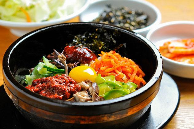 Un viaje gastronómico a Corea del Sur: bibimbap