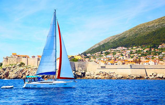 Navegar para conocer bien Dubrovnik