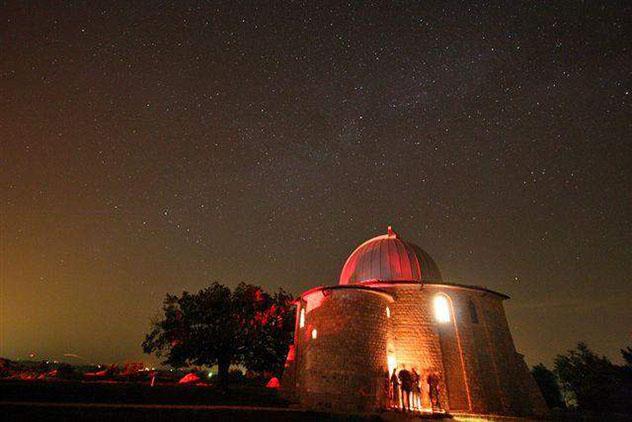 Celebración del solsticio de verano en el observatorio de Višnjan, Istria, Croacia