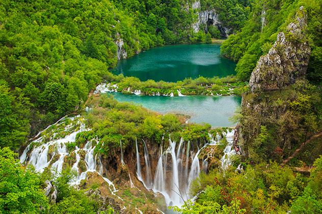 Parque Nacional de los lagos de Plitvize, Croacia