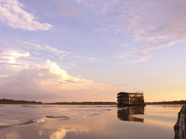 Crucero, río Amazonas, Perú © Bob Balestri /Getty Images