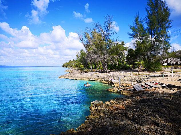 Cuba: bahía de Cochinos