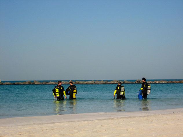 Bucear en Oriente Próximo: el Golfo Pérsico, Dubái