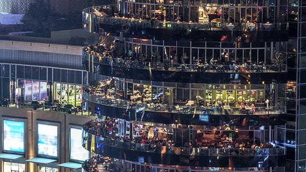 Dubái: bares en Dubái Marina
