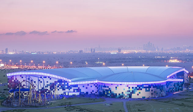 Dubái: Parque temático IMG Worlds of Adventure